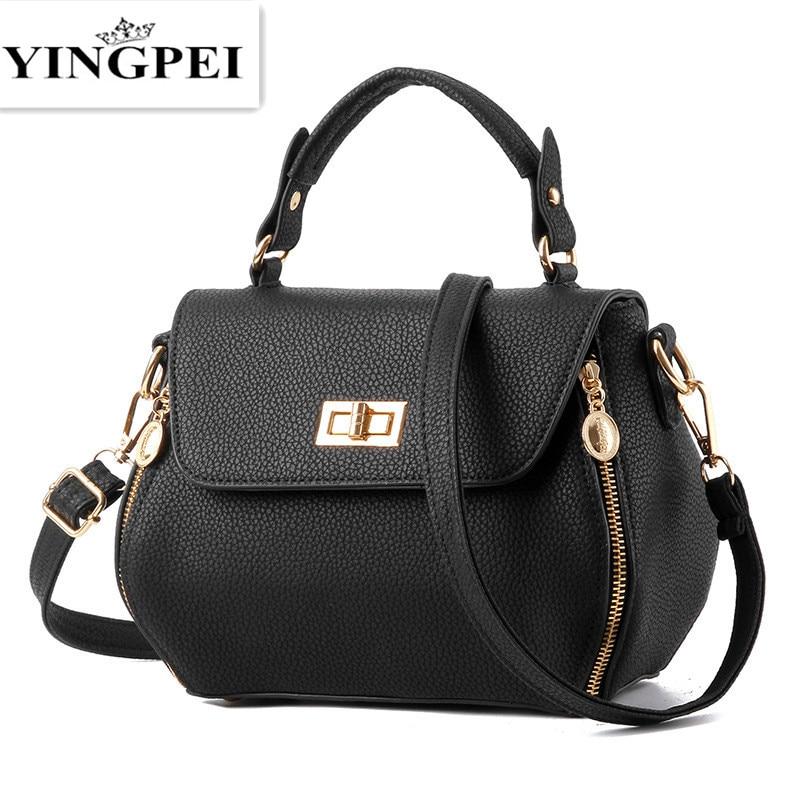 Kvinnor Messenger Bags Casual Tote Femmel Luxury Handväskor Damväska Designer Cell Phone Pocket Högkvalitativa Axelväskor