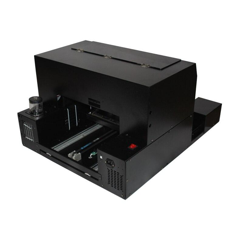 UV à plat imprimante pour carte D'IDENTITÉ, coque de téléphone, Stylo, CD, Cuir, Métal, Bois etc