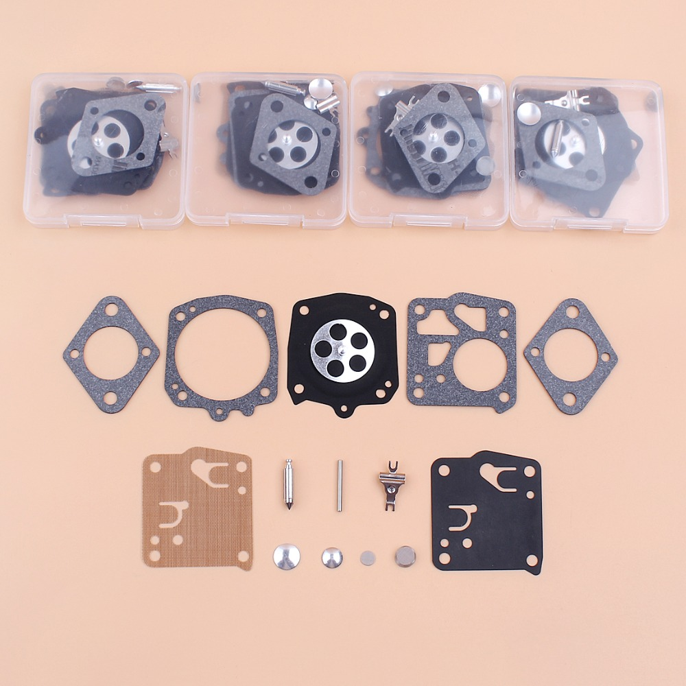 5Kit/lot Carburettor Carb Diaphragm Repair Set Kit For Tillotson RK-23HS RK23HS Husqvarna 266 268 272 288 480 Chainsaw