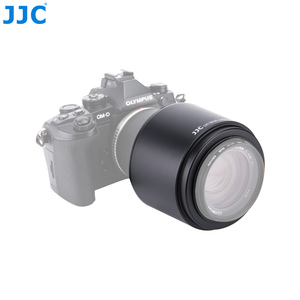 "Image 5 - JJC עדשת הוד 58 מ""מ עבור אולימפוס M. ZUIKO DIGITAL ED 75 300 מ""מ f/4.8 6.7 השני עדשה מחליף LH 61E"