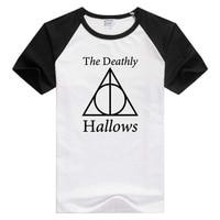The deathly hallows Peverell short sleeve casual Men/Women T-shirt Comfortable Tshirt Cool Print Tops Fashion GA369