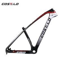Costelo масса одноцветное 3 K 27.5er 29er углеродного волокна mtb Велосипеды рамка углерода Mtb горный велосипед frameset telaio делла bicicletta