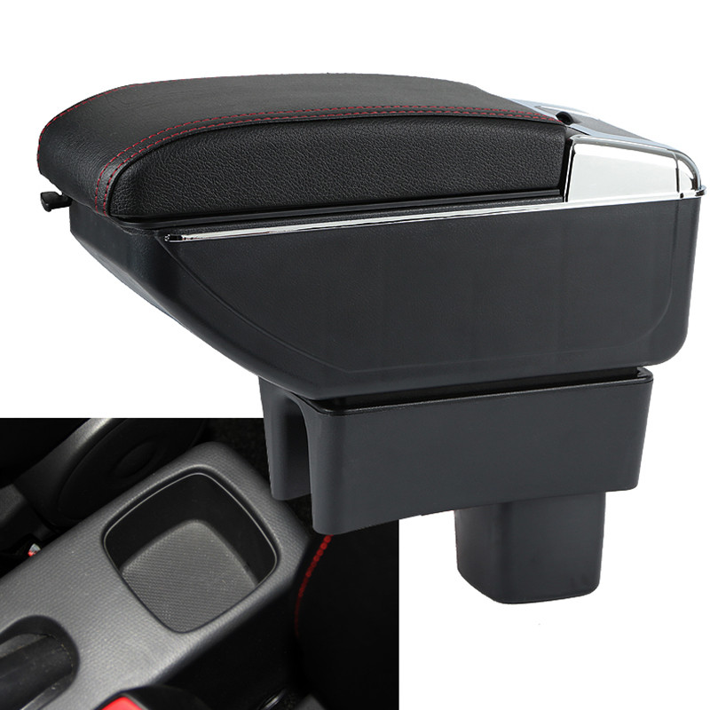 lsrtw2017 Car Armrest Central Storage Box For suzuki swift Maruti Suzuki Swift DZire 2010 2011 2012 2013 2014 2015 2016 2017