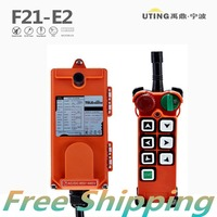 Hot Sales Industrial Wireless 6 Single Speed Buttons F21 E2 Remote Controller for Hoist Crane