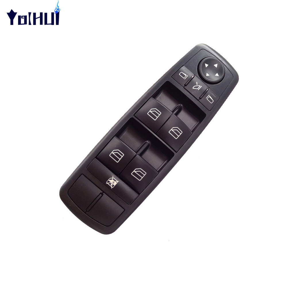 A2518300290 interrupteur de fenêtre d'alimentation pour Benz W164 GL320 GL350 GL450 ML500 R320 commutateur maître de commande électrique de fenêtre de voiture