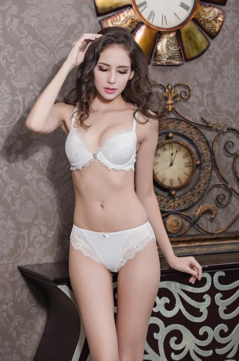 <font><b>2017</b></font> <font><b>New</b></font> Stylish <font><b>Bra</b></font> And Brief <font><b>Sets</b></font> Front Closure Lace <font><b>Lingerie</b></font> <font><b>Set</b></font> Push-up Brassiere Female <font><b>Underwear</b></font> <font><b>Sets</b></font> Sujetadores SexyCG26 image