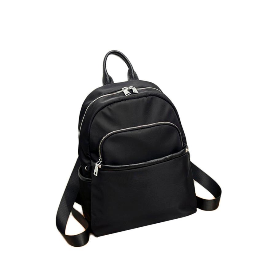 School Bags For Teenagers Fashion Solid High Quality Vintage Canvas Rucksack School Satchel Bookbag Backpack Mochilas