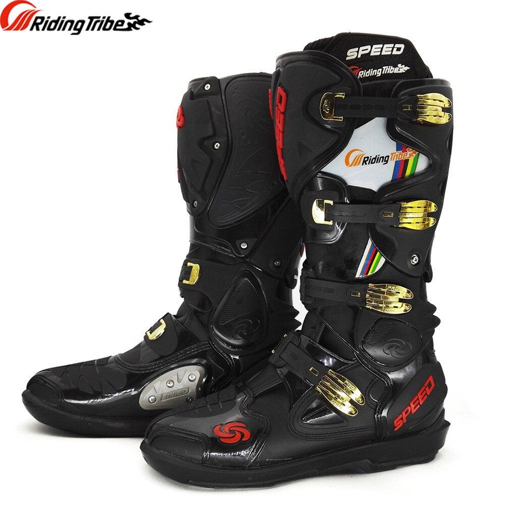 Профессиональный ралли Мотокросс Сапоги и ботинки для девочек мотоциклетная обувь Off Road Botas мото motoqueiro 00491 motocicleta botte Botas Para мото Обувь