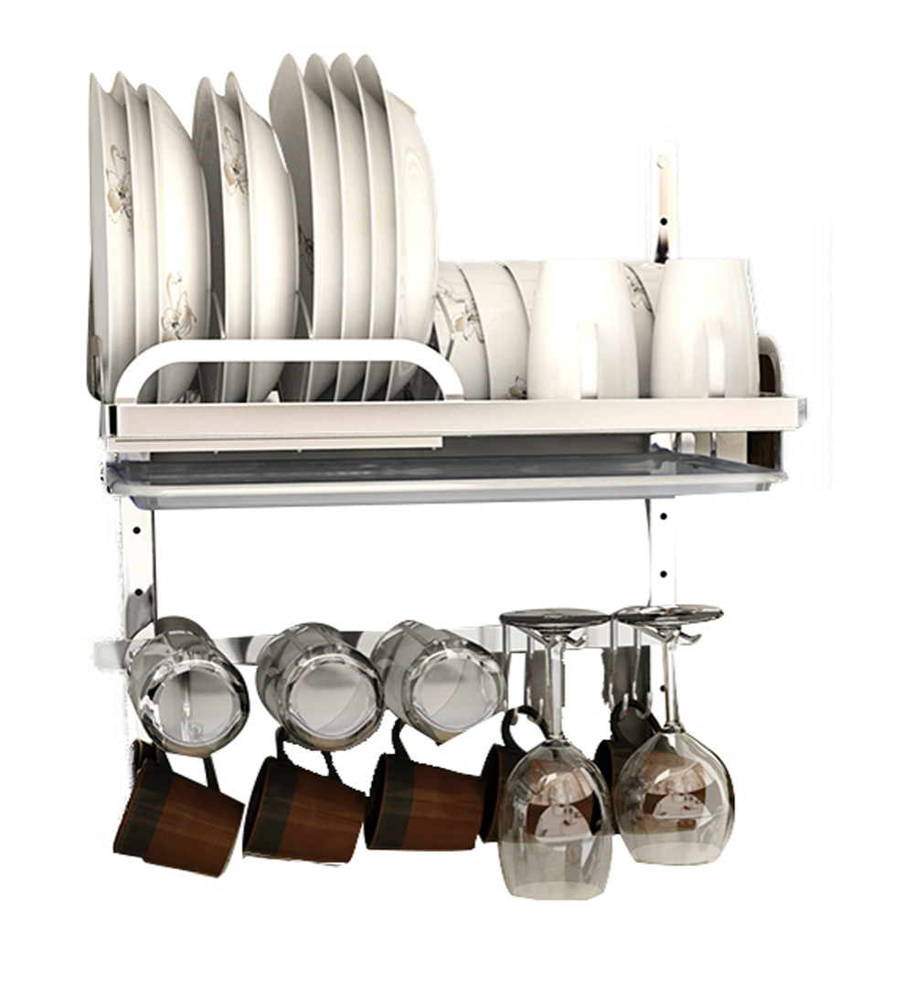 stainless steel dish rack 304 stainless steel multifunctional kitchen mounted dish 29087