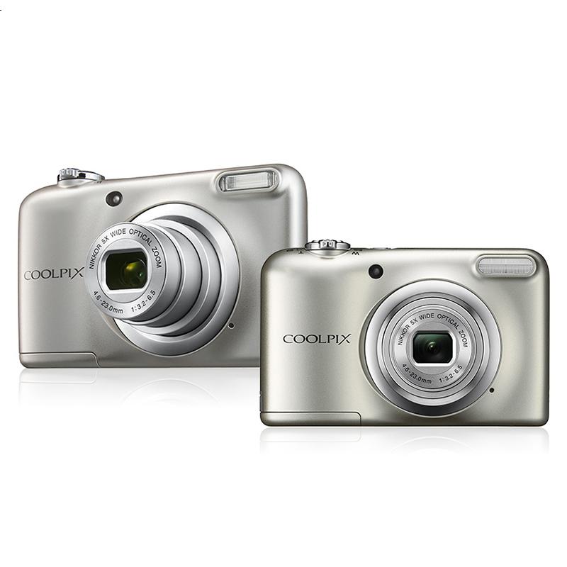 """Prix pour Mini-mince Véritable pour Nikon 2.7 """"LCD COOLPIX A10 16MP Appareil Photo Numérique 5x Zoom HD Caméscope Anti-shake DV Caméra AA Batterie Argent"""