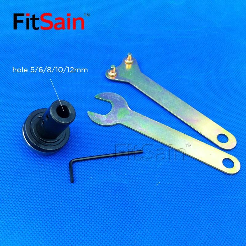 FitSain-Saw-tuleja korbowodu tuleja wał silnika 5/6/8/10/12 / 14mm - Akcesoria do elektronarzędzi - Zdjęcie 3