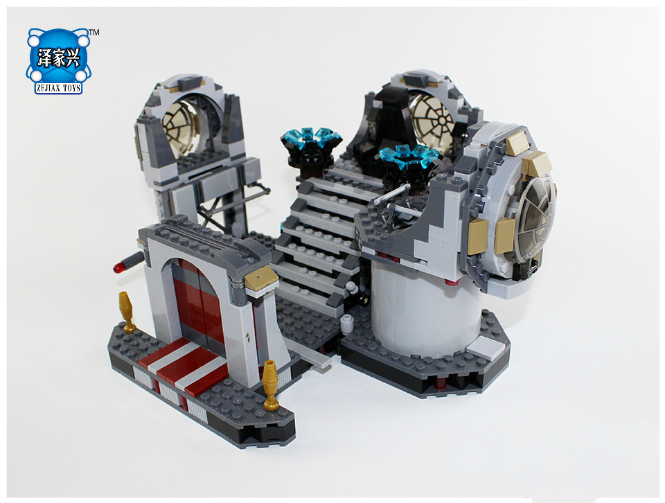 NEW GIFTS BELA Compatible LEPIN Building Blocks Star SAPCE Wars Figures Death Star Final Duel Educational Toys for Children lepin 05035 star wars death star limited edition model building kit millenniums blocks puzzle compatible legoed 75159