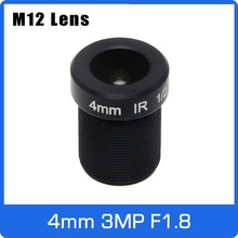 Cctv-Lens 4mm with Big-Aperture F1.8 for HD 1080P Ip-Camera 3megapixel Fixed 1/2.5inch