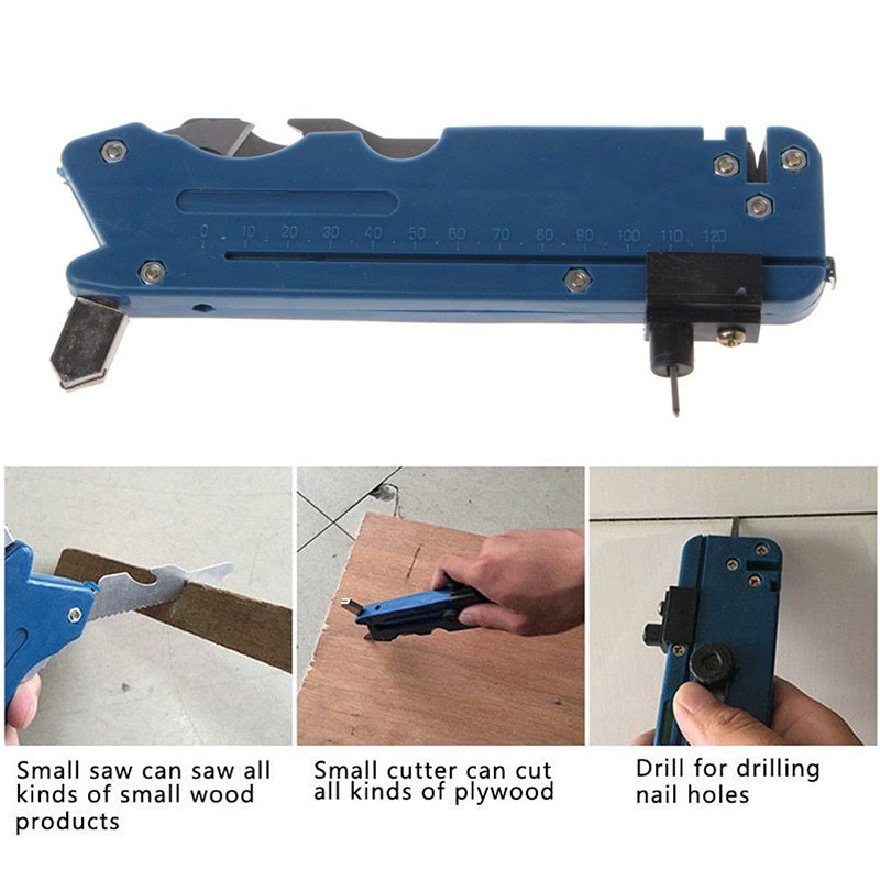 Multifunction Glass Tile Cutter Carbon Atoms Blades Ceramic Plastic Cutting Tool