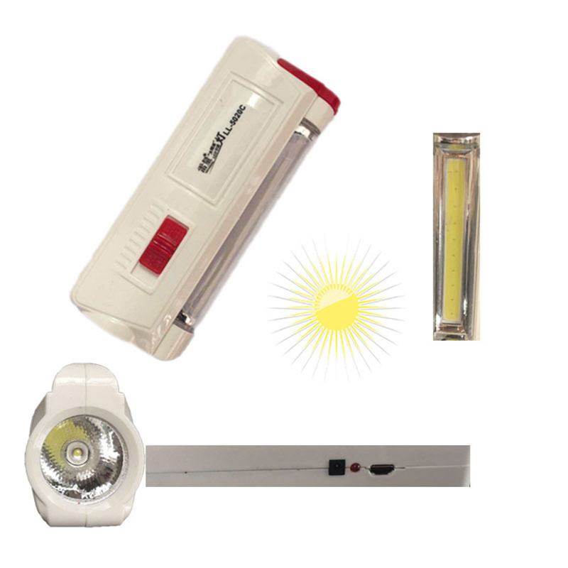 AKDSteel Solar Flashlight USB Charging Multifunction Flashlight Mini Portable Energy Torch Solar Outdoor Emergency Lighting lumiparty mini portable flashlight plastic hand power emergency lights generation environment friendly outdoor torch lamp