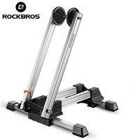ROCKBROS Bycle MTB Mountain Bike Parking Racks Aluminum Alloy Portable Maintenance Support Frame Folding Display Repair