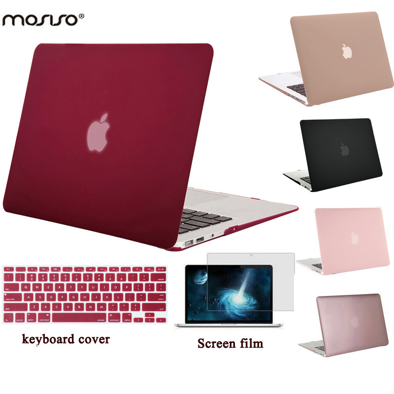 все цены на MOSISO Clear Black Mac Retina Pro 13 Case A1425/A1502 Laptop Protective Shell Cover for Macbook Air 13 13.3'' Hard Cover Case онлайн