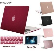 Mosiso для MacBook Pro 13 Retina A1425/A1502 матовая Пластик Жесткий Чехол для Mac Book Air 13 13.3 Ноутбук В виде ракушки + крышка клавиатуры