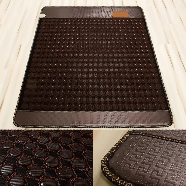 2016 NEW tourmaline heating mattress infrared massage mat thermal pad massage mattress massage electric hot stone 1.0X1.9M 2016 electric heating massage jade stone mattress korean mattress wholesaler 1 2x1 9m