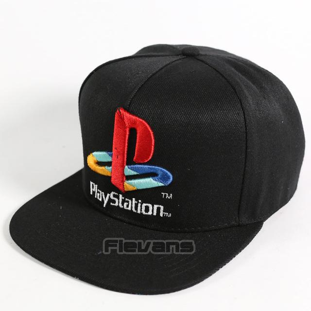 PlayStation Men Women Snapback Baseball Caps Brand Fashion Summer Cotton Sun Hat Casual Hip Hop Hats