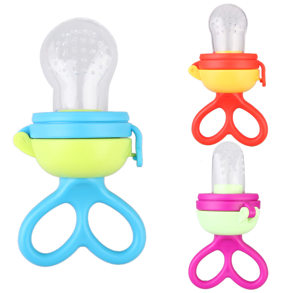 Baby Pacifier Chew Soother Complementary Device Nipple Baby Bite Bags Baby Feeding Products Suppliers for 4M Infants