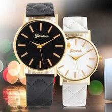 Новые женские шашки искусственной леди платье часы женские Повседневное кожа кварц-смотреть спортивные наручные часы подарки relogios feminino 7 цвет