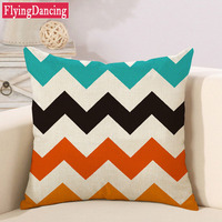 Nordic Geometric Cushion Modern Colorful Triangle Plaid Linen Beige Throw Pillows For Sofa Seat Luxury Home