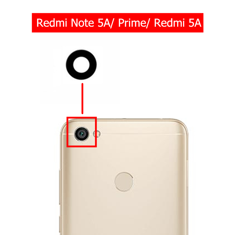 Glass-Lens Repair-Spare-Parts Camera Glue-Replacement Back Note-5a Xiaomi Redmi for Rear