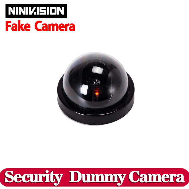 Wireless Home Security Fake Camera Simulated video Surveillance ...