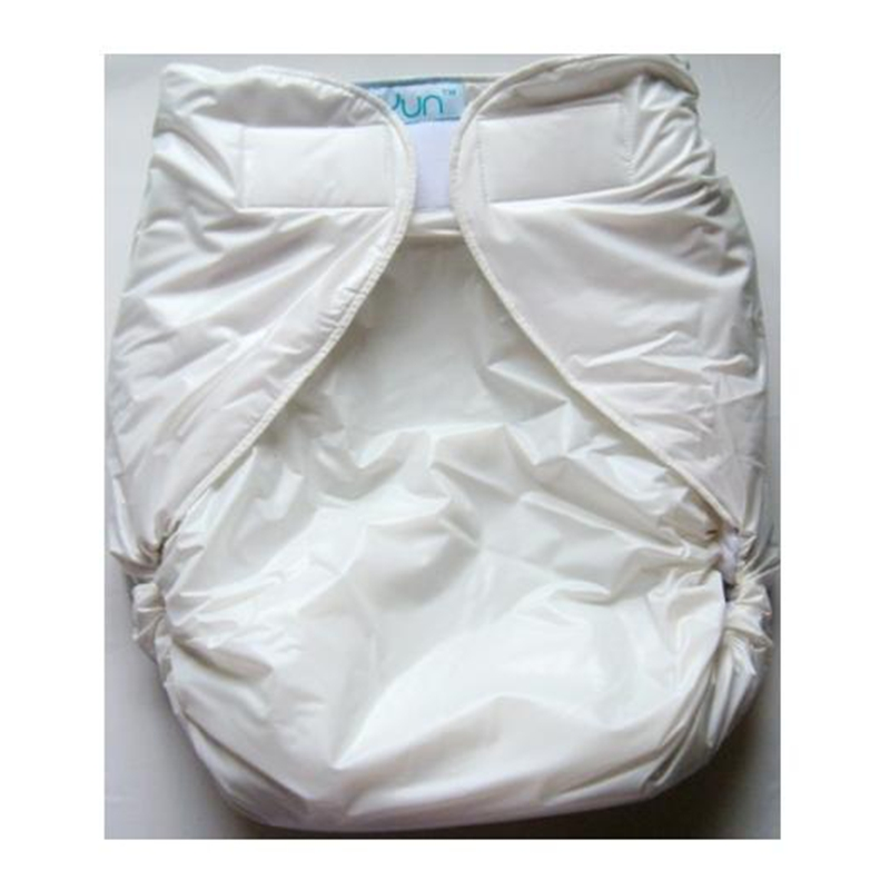 Free Shipping FUUBUU2016-White-S/M Free Adult Diapers Pvc Adult Diaper Cloth Diaper Adult Incontinence Pants For Adults ABDL