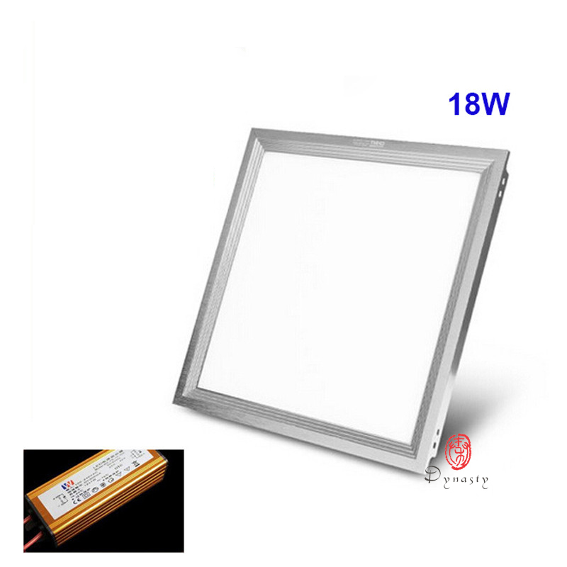 led integrate panel light 30x30cm square aluminum ceiling lamp super bright 18w ac110220v kitchen office free shipping dynastyin led panel lights from