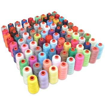 1Roll Durable 3000M Yards Overlocking Sewing Machine Line Industrial Polyester Sewing Thread Metre Cones Factory Direct Sales image