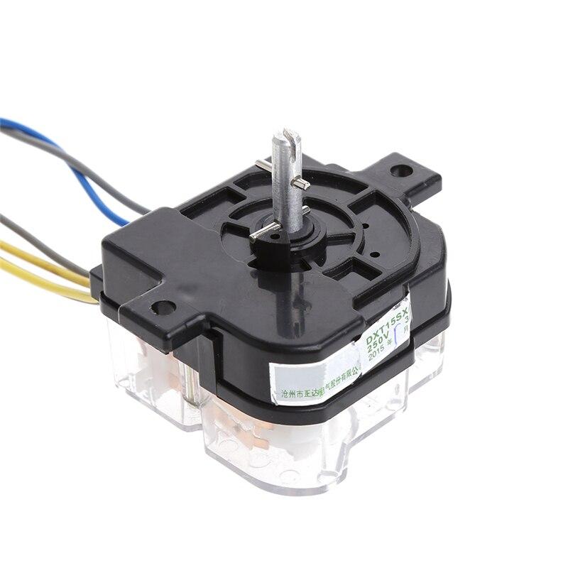 6 Fil-Machine à laver minuterie 90 Degré trou central Distance Commutateur 68 mm Arbre