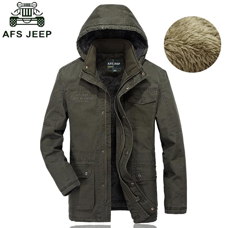 Здесь продается  Winter mens parkas hombre invierno high quality fleece warm winter jacket military style mens outwear cotton padded hooded coat  Одежда и аксессуары