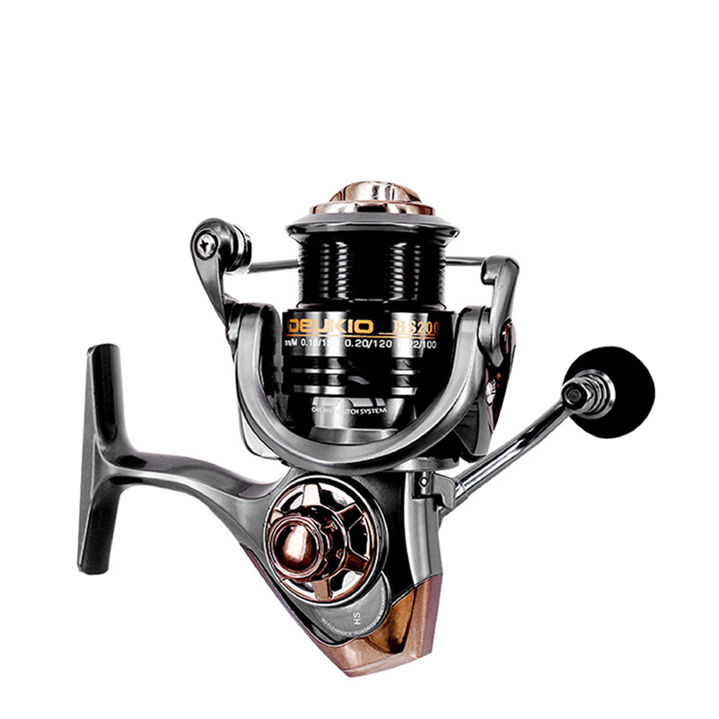 Image 3 - YUYU quality Metal Fishing reel spinning metal shallow spool 2000 3000 5000 6+1BB 7.1:1 spinning reel for carp fishing-in Fishing Reels from Sports & Entertainment