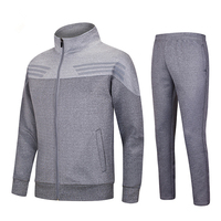 2017 New Winter Survetement Football cotton Men Football Jerseys Set Blank Soccer Jerseys Suits Training Pants Tracksuit Uniform