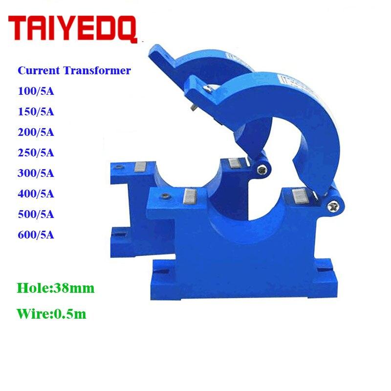 Suche Nach FlüGen Ct 100a 150a/5a 200a/5a 300a/5a 400a/5a 500a/5a 600a/5a Clamp Versenkbare Ac Stromwandler Ac Split Core Cts Sensor Heimwerker Transformatoren