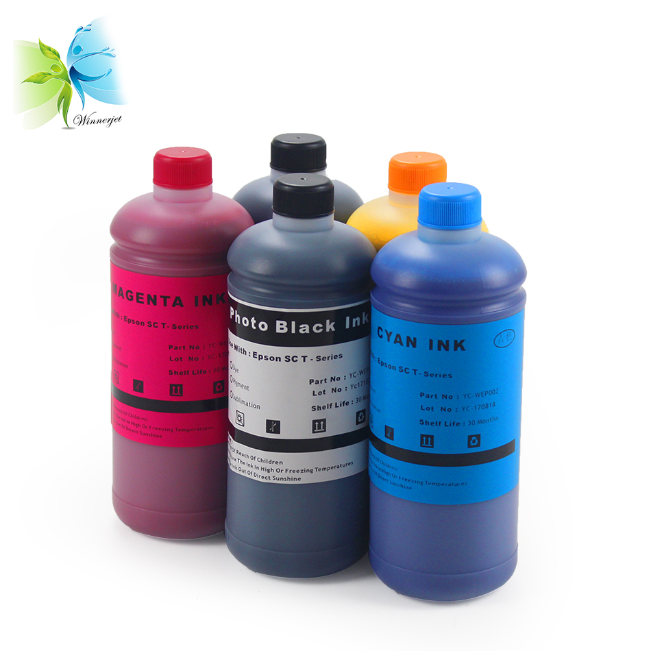Winnerjet T6941 T6931 T6921 Water Based Pigment Ink for Epson T3270 T5270 T7270 SC T3270 SC T5270 SC T7270 tinta for Epson in Ink Refill Kits from Computer Office