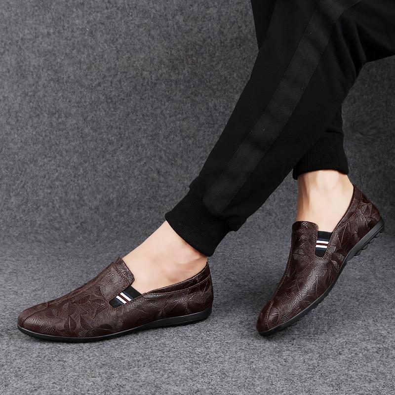 NORTHMARCH Nieuwe Lederen Mannen Schoenen Mode Mannen Casual Schoenen Instappers Mocassim Masculino Driving Heren Zapatos Hombres - 4