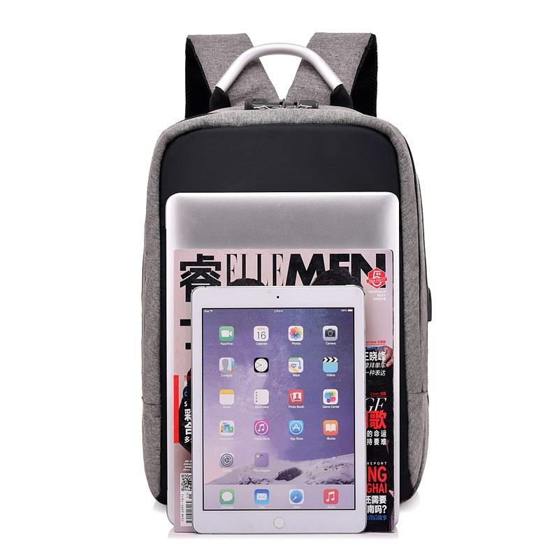 DINGXINYIZU USB Charge Anti-Theft Laptop Men Backpacks Waterproof Women School Bags Travel Daypack Unisex Rucksack Male Mochila