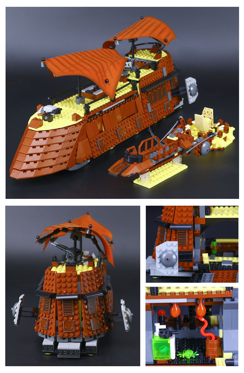 US $35 78 |Legoed Star Lepin Kapal Perang Kapal Perang Mainan 05090 Secara  Terbuka Bintang Bangunan Wars Model Kit Blok Bangunan Mainan Hadiah 6210 di