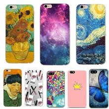 For iPhone 7 7plus Case Cover Silicone Flower tpu Soft Phone Cases For iPhone 5 5s se 6 6s X Case For Iphone 8 8 Plus Coque Capa