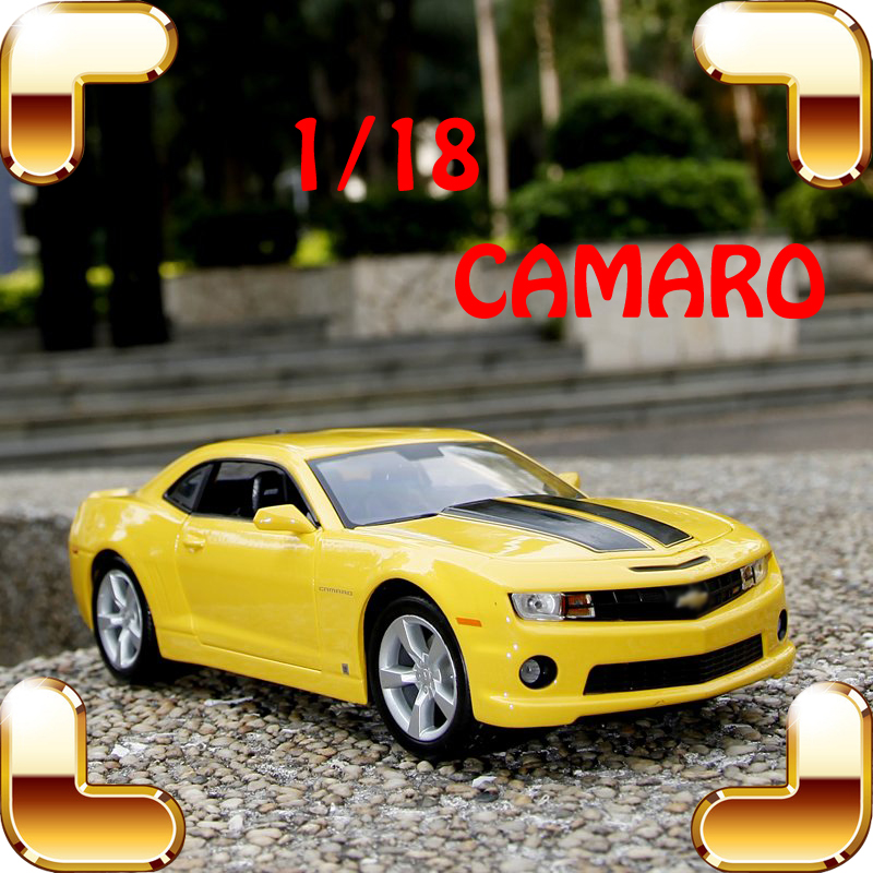 New Year Gift Camaro 1/18 Metal Model Collection Car Movie Souvenir Alloy Material Decoration Cars Fans Favour Present Toy Scale цены