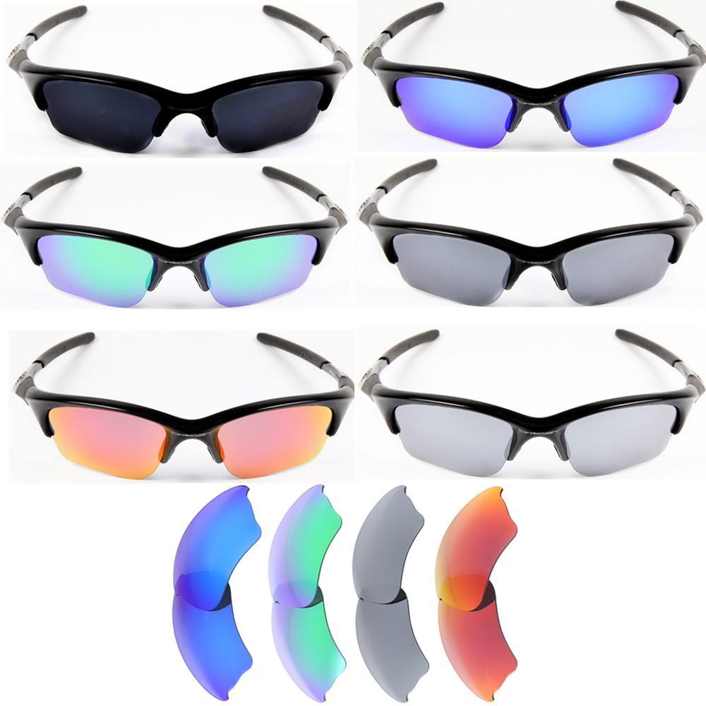 half jacket  Inew polarized replacement lenses for Oakley Half Jacket XLJ- option  colorsChina Mainland