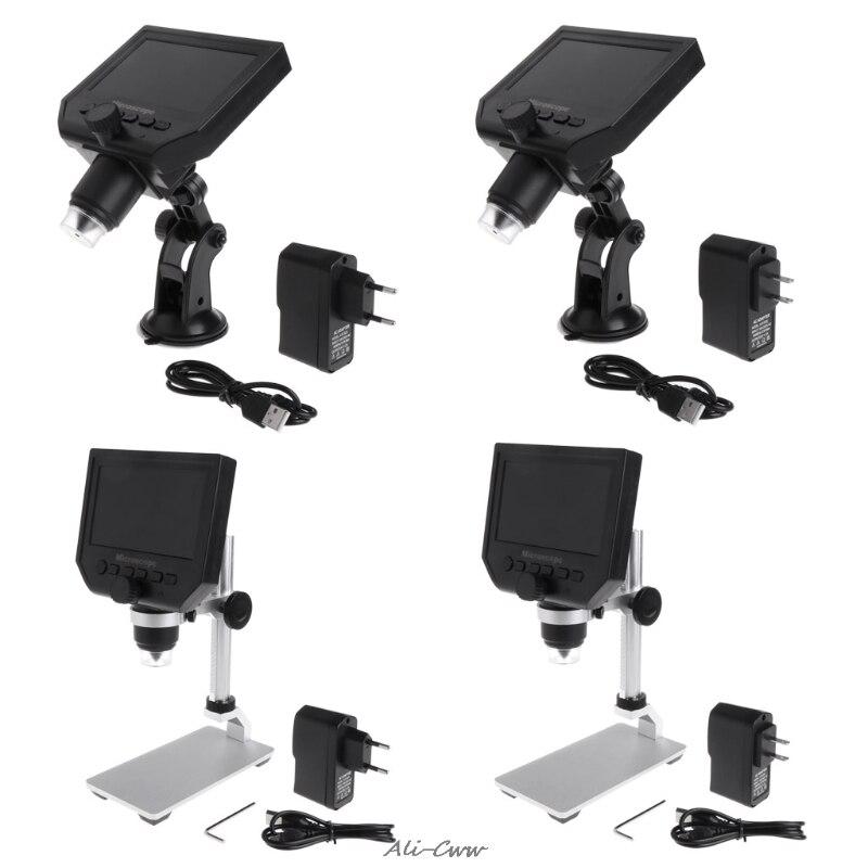G600 4.3 LCD Digital Microscope LED Zoom 1-600X 3.6MP HD Della Macchina Fotografica Video RecorderG600 4.3 LCD Digital Microscope LED Zoom 1-600X 3.6MP HD Della Macchina Fotografica Video Recorder
