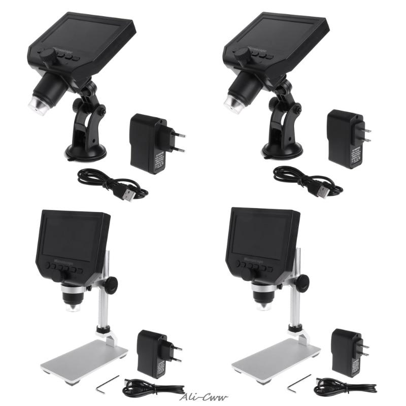 Messung Und Analyse Instrumente Willensstark G600 4,3 lcd Digital Mikroskop Led Zoom 1-600x 3.6mp Hd Kamera Video Recorder SorgfäLtig AusgewäHlte Materialien Werkzeuge
