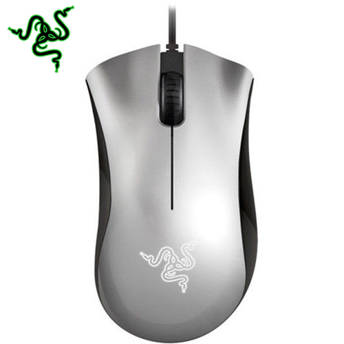 Razer Deathadder Wired Mice 1800DPI Black/White/Sliver Gaming Mouse et t6 wired gaming mouse black