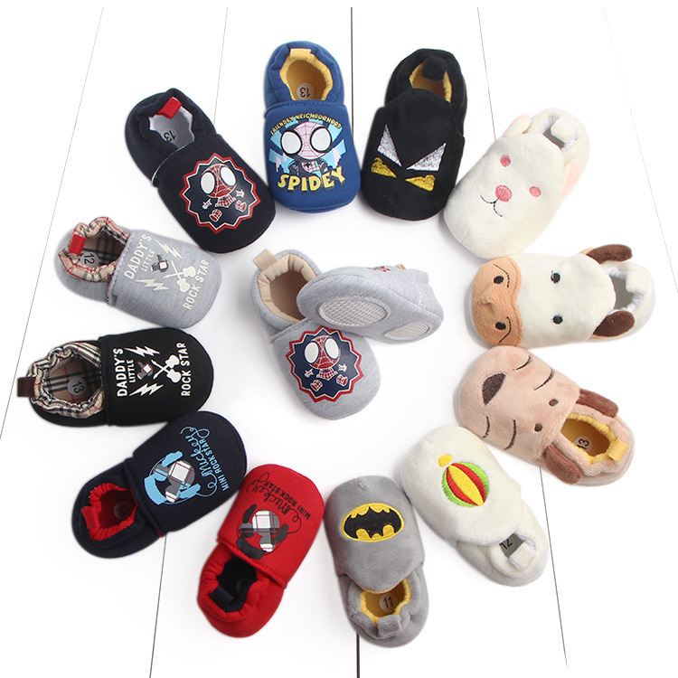 Spring And Autumn New Pattern Baby Semi Adhesive Study Walking Shoes Non Slip Baby Soft Sole Of Shoes Baby Shoe 0792