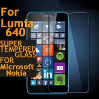 Quality Arc Tempered 0 3mm Glass Screen Protector Protective Film For Microsoft Nokia Lumia 640 Glass