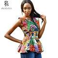 2016 мода африканский стиль Красивая африканская печати топ Анкара африканская одежда blazer из супер восковой печати ткань
